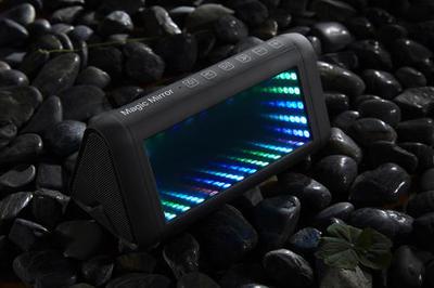 5050内置IC灯珠制作的LED幻彩音响